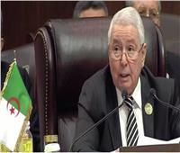 الرئيس الجزائري المؤقت يستقبل فريق قيادة الحوار الوطني الشامل