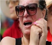 جنازة السبسي| صور.. التونسيات يودعن الرئيس الراحل بالدموع