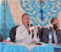 صور| وزير قطاع الأعمال: اهتمام كبير من رئيس الجمهورية للنهوض بالقطن المصري