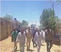 إزالة 51 حالة تعدي على أراضي لدولة بمدينة أسوان