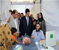 بالصور  انطلاق حملة مجانية لكشف وعلاج 3000 طفل بالقليوبية
