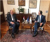 في مستهل زيارته إلى قبرص.. وزير الخارجية يعقد جلسة مباحثات مع نظيره القبرصي