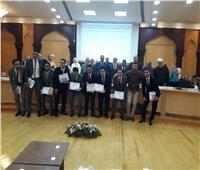 مجلس الجامعة يكرّم طلاب كلية هندسة الأزهر الفائزين بجائزة التميز العالمى الأولى