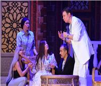 صور  إيمان البحر درويش وشيرين يفتتحان عرض «مكتوبلي أغنيلك» بالإسكندرية
