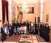 البابا تواضروس يستقبل أعضاء مجلس كنائس الخليج