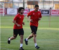 سعد سمير ومحمد محمود يخوضان تدريبات تأهيلية
