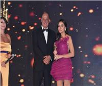 سارة الطباخ أفضل منتجة باحتفالية جوائز «الميما»