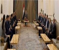 الرئيس العراقييستقبل سامح شكري ونظيره الأردني
