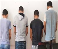 ضبط 4 اشخاص كونوا تشكيلا عصابيا لسرقة المارة فى المنيا
