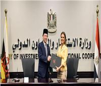 «مصر وبروناي» توقعان مذكرة تفاهم للتعاون الاقتصادي والفني