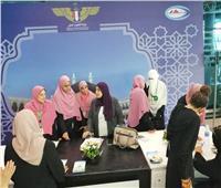 «البحوث الإسلامية» تلتقي واعظات الأزهر بمطار القاهرة
