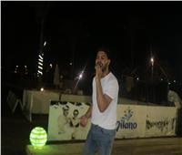 صور| محمد شاهين يتألق بحفل «الهاموك»