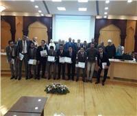 طلاب الأزهر يحصدون جائزة التميز على مستوى جمعيات مهندسي البترول
