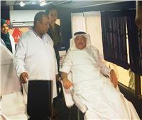 العاملون بالسفارة السعودية بالقاهرة يتبرعون بالدم لصالح مصابي معهد الأورام