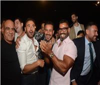 صور| أبطال «أولاد رزق 2» يحتفلون بالعرض الخاص.. وغياب أحمد الفيشاوي