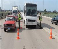 مساعد وزير الداخلية للمرور يتفقد الطرق السريعة لتأمين رحلات المواطنين