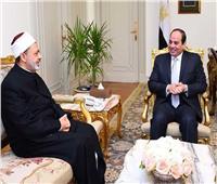 الإمام الأكبر يهنئ الرئيس السيسي بـ«عيد الأضحى المبارك»