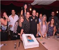 صور| سمير صبري وشذا شعبان يحتفلان بعيد ميلاد الإعلامية بسمة إبراهيم