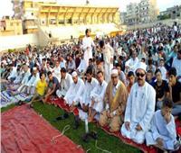 أهالي سيناء يؤدون صلاة عيد الأضحى بالساحات والمساجد