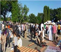 الآلاف يؤدون صلاة عيد الأضحى المبارك في المركز الإسلامي الكبير بـ«فيينا»