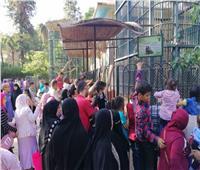 حديقة الحيوان تستقبل 40 ألف زائر أول أيام العيد