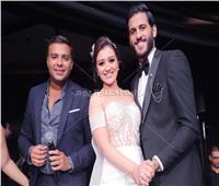 صور| رامي صبري يُشعل زفاف مروان محسن بأغاني ألبومه الجديد