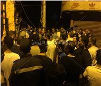 فيديو| نائب الإسماعيلية يلتقي المتضررين من حادث حريق شارع مصر