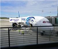 صور| بأجنحة من الكربون.. «طائرة الأحلام» السادسة في طريقها إلى مصر
