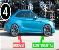 شاهد| خطورة الجمع بين إطارات عالية الجودة وأخرى متدنية بالسيارة