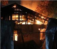 وفاة 8 في حريق بفندق في أوكرانيا