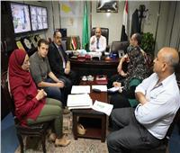 سكرتير عام المنوفية يتابع تنفيذ المراحل النهائية لمصنع أبو خريطة لتدوير القمامة