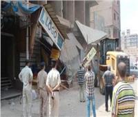 إزالة 6 آلاف إعلان و 900 حالة إشغال من شوارع الغربية