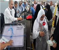 صور| وصول 15000 حاج على «مصر للطيران» منذ إنطلاق جسر العودة