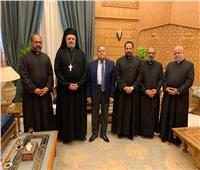 مستشار الإمام الأكبر يستقبل وفدًا من الكنيسة الكاثوليكية