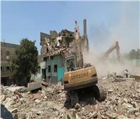 «أمن القاهرة» يستكمل إزالة «مثلث ماسبيرو» لتطوير المنطقة