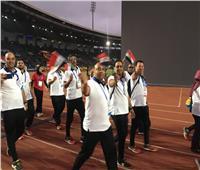 صور| مصر تشارك في حفل افتتاح دورة الألعاب الإفريقية بالمغرب
