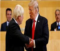 جونسون وترامب يناقشان العلاقات التجارية بين بريطانيا وأمريكا