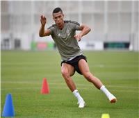«رونالدو» يعود لتدريبات يوفنتوس استعدادًا لبارما