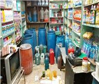 ضبط 25 طنا منظفات ومستلزمات إنتاج غير صالحة داخل مصنع بالإسكندرية