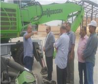 سكرتير عام المنوفية يتفقد مصنع أبو خريطة لتدوير القمامة