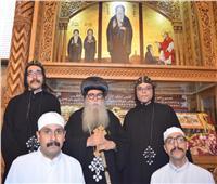 أجراس الأحد| رسامة راهبين جديدين بدير الأنبا بيشوي