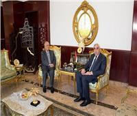 سفير العراق يستقبل رئيس البعثة السورية في القاهرة