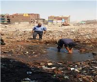 تمهيدا لتطويره.. إصلاح  كافة مواسير مياه الصرف الصحي بحكر السكاكيني