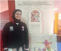 نور حسين تتوج بفضية التايكوندو في الألعاب الإفريقية
