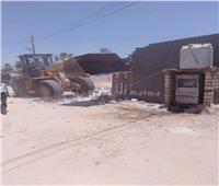 محافظ قنا: إزالة ٦٧ حالة تعدي على أراضي الدولة والأوقاف والري