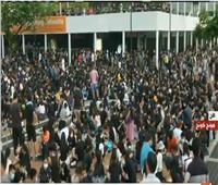 بث مباشر| تجمع لعدد من الطلاب حول الإصلاحات السياسية بهونج كونج