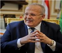 رئيس جامعة القاهرة يهنئ الأخوة الأقباط بعيد العذراء