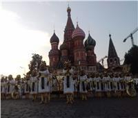 مصر تشارك بالمهرجان الدولي الثاني عشر للموسيقات العسكرية بروسيا