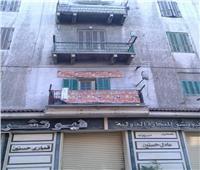 صور| إصابة شخصين أثر انهيار أجزاء من عقار في الإسكندرية
