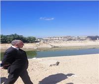 وزير الري يتفقد ترعة الحمام ومحطة مياه الشرب
